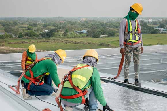 A cost-effective way to repair damaged roofs
