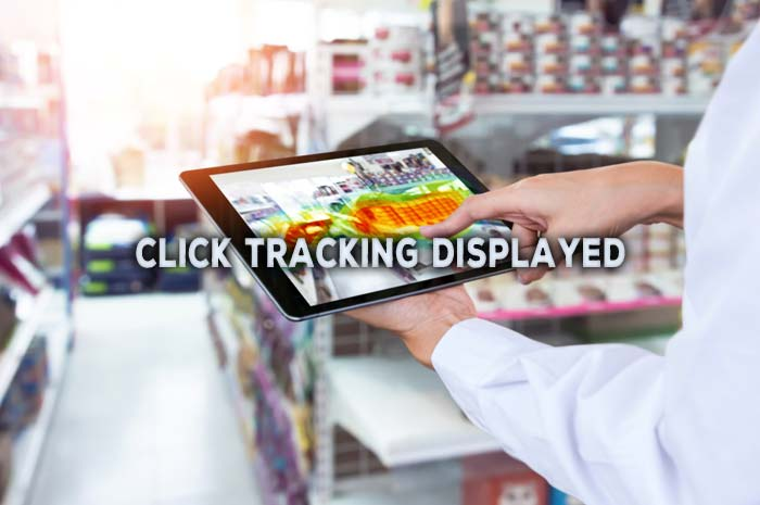 Where is My Click Tracking Displayed?